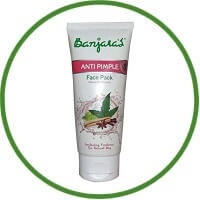 Banjaras Anti-Pimple Face Pack