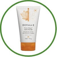 DERMA E Very Clear Acne Scrub