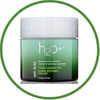 H2O Anti-Acne Exfoliating Cleansing Pads